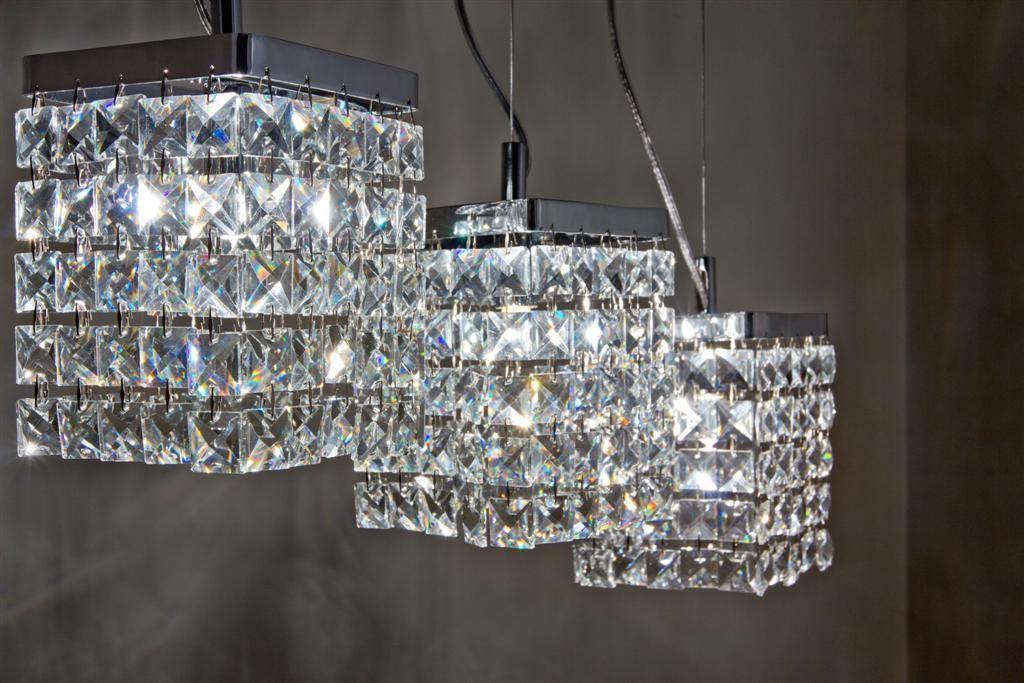 lampadario di cristallo : Preziosa: il lampadario di cristallo di Marchetti Illuminazione
