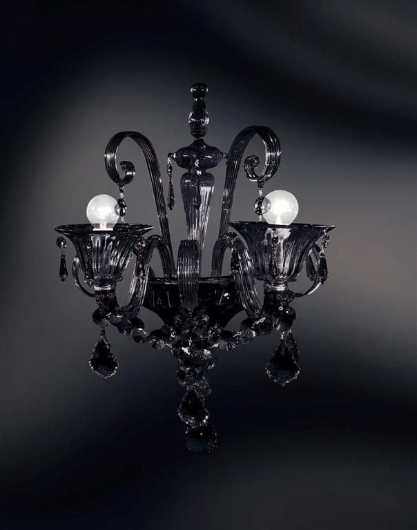 Lulu 39 di av mazzega un lampadario di cristallo dallo for Lampadari vintage