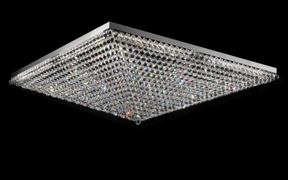 Plafoniere Con Gocce Di Cristallo : Plafoniere in cristallo lampadari