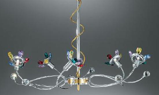 ... Lampadari cristallo moderni / Lampadari cristallo Romantici No